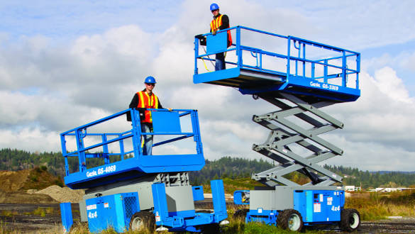 scissor lift rental in Irving, TX